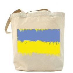 Сумка Потертый флаг Украины - FatLine