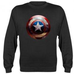 Реглан Потрескавшийся щит Капитана Америка - FatLine