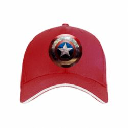 Кепка Потрескавшийся щит Капитана Америка
