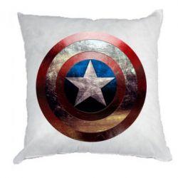 Подушка Потрескавшийся щит Капитана Америка - FatLine