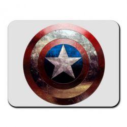 Коврик для мыши Потрескавшийся щит Капитана Америка - FatLine