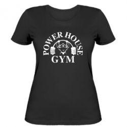 Женская футболка Power House Gym - FatLine