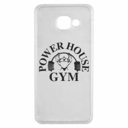 Чехол для Samsung A3 2016 Power House Gym