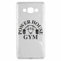 Чехол для Samsung A5 2015 Power House Gym
