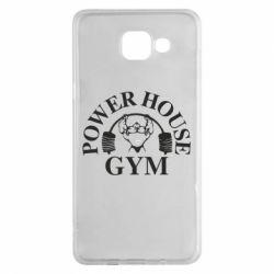 Чехол для Samsung A5 2016 Power House Gym