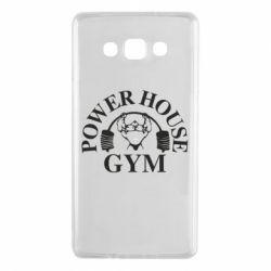 Чехол для Samsung A7 2015 Power House Gym