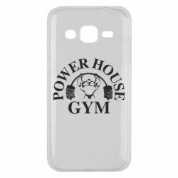 Чехол для Samsung J2 2015 Power House Gym