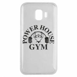 Чехол для Samsung J2 2018 Power House Gym