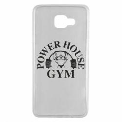 Чехол для Samsung A7 2016 Power House Gym