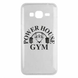 Чехол для Samsung J3 2016 Power House Gym