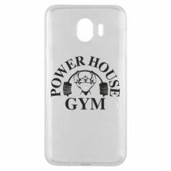 Чехол для Samsung J4 Power House Gym