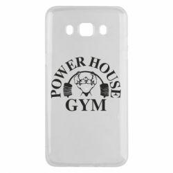 Чехол для Samsung J5 2016 Power House Gym