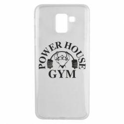 Чехол для Samsung J6 Power House Gym
