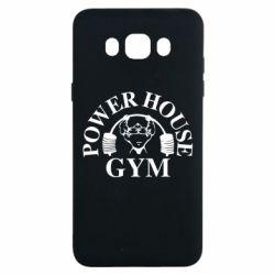 Чехол для Samsung J7 2016 Power House Gym