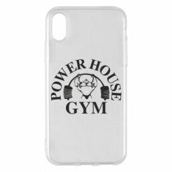 Чехол для iPhone X/Xs Power House Gym