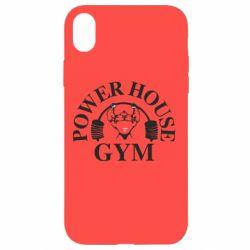 Чехол для iPhone XR Power House Gym