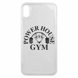 Чехол для iPhone Xs Max Power House Gym