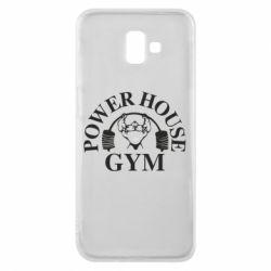 Чехол для Samsung J6 Plus 2018 Power House Gym