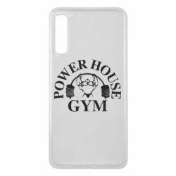Чехол для Samsung A7 2018 Power House Gym