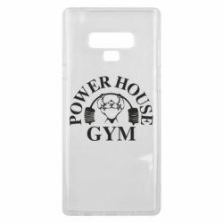 Чехол для Samsung Note 9 Power House Gym