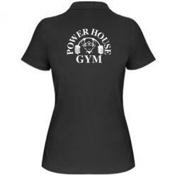 Женская футболка поло Power House Gym - FatLine