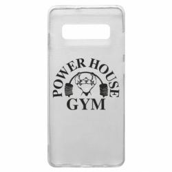 Чехол для Samsung S10+ Power House Gym