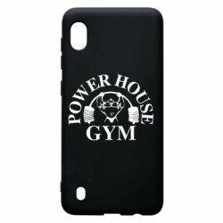 Чехол для Samsung A10 Power House Gym