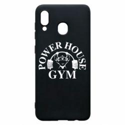 Чехол для Samsung A20 Power House Gym