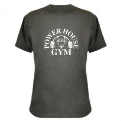 Камуфляжная футболка Power House Gym - FatLine