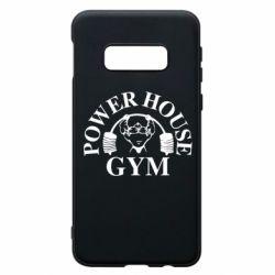 Чехол для Samsung S10e Power House Gym