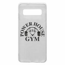 Чехол для Samsung S10 Power House Gym
