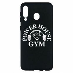Чехол для Samsung M30 Power House Gym