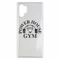 Чехол для Samsung Note 10 Plus Power House Gym