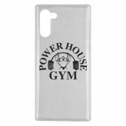 Чохол для Samsung Note 10 Power House Gym