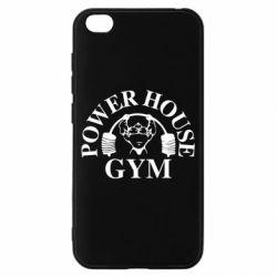 Чехол для Xiaomi Redmi Go Power House Gym