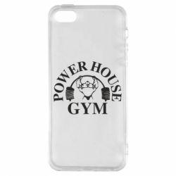 Чехол для iPhone5/5S/SE Power House Gym