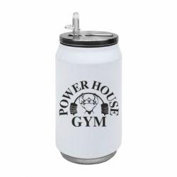 Термобанка 350ml Power House Gym