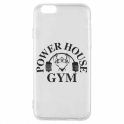 Чехол для iPhone 6/6S Power House Gym