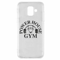 Чехол для Samsung A6 2018 Power House Gym