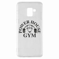 Чехол для Samsung A8+ 2018 Power House Gym