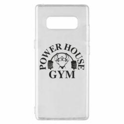 Чехол для Samsung Note 8 Power House Gym
