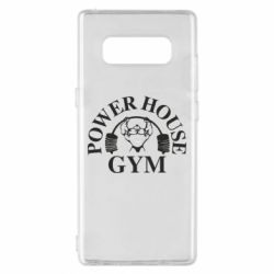 Чохол для Samsung Note 8 Power House Gym