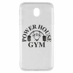 Чехол для Samsung J7 2017 Power House Gym
