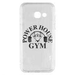 Чехол для Samsung A3 2017 Power House Gym
