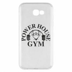 Чехол для Samsung A7 2017 Power House Gym