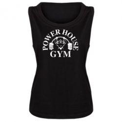Женская майка Power House Gym - FatLine