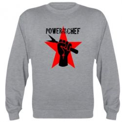 Реглан (свитшот) Power to the chef - FatLine