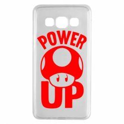 Чохол для Samsung A3 2015 Power Up Маріо гриб