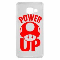 Чохол для Samsung A3 2016 Power Up Маріо гриб