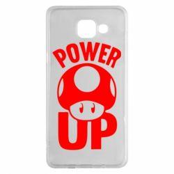 Чехол для Samsung A5 2016 Power Up гриб Марио